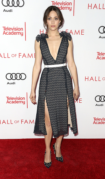 エミー・ロッサム「Television Academy's 24th Hall Of Fame Ceremony - Arrivals」:写真・画像(5)[壁紙.com]