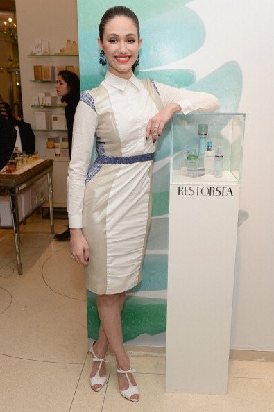 Dimitrios Kambouris「Bergdorf Goodman Meet-And-Greet With Restorsea Founder Patti Pao And Brand Ambassador Emmy Rossum」:写真・画像(11)[壁紙.com]