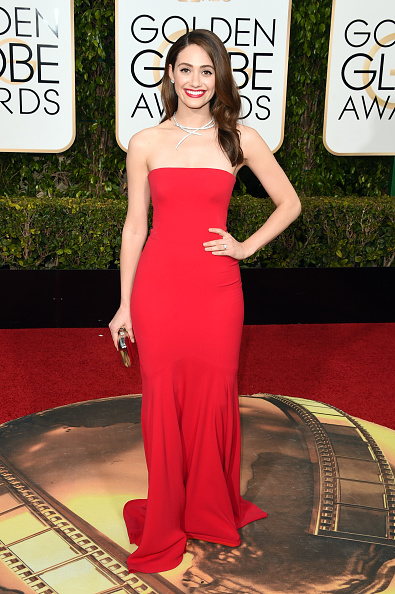 Emmy Rossum「73rd Annual Golden Globe Awards - Arrivals」:写真・画像(1)[壁紙.com]