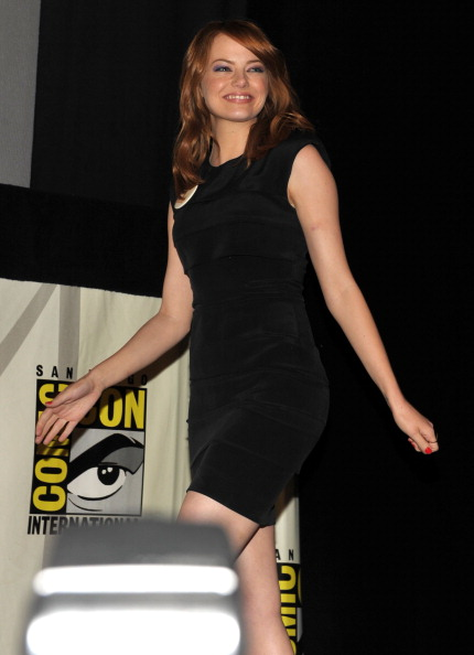 "Emma Stone「""The Amazing Spider-Man"" Panel - Comic-Con 2011」:写真・画像(16)[壁紙.com]"