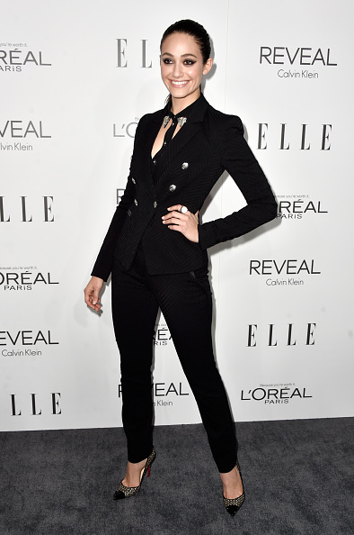 エミー・ロッサム「ELLE's 21st Annual Women In Hollywood - Arrivals」:写真・画像(18)[壁紙.com]