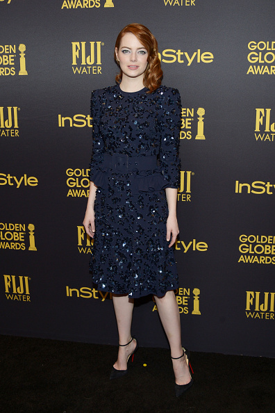 Emma Stone「Hollywood Foreign Press Association And InStyle Celebrate The 2017 Golden Globe Award Season」:写真・画像(9)[壁紙.com]