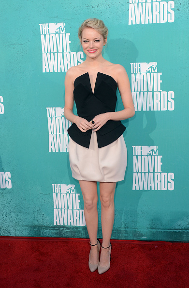 Emma Stone「2012 MTV Movie Awards - Arrivals」:写真・画像(16)[壁紙.com]