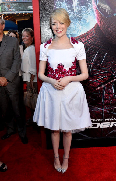"""Emma Stone「Premiere Of Columbia Pictures' """"The Amazing Spider-Man"""" - Red Carpet」:写真・画像(2)[壁紙.com]"""
