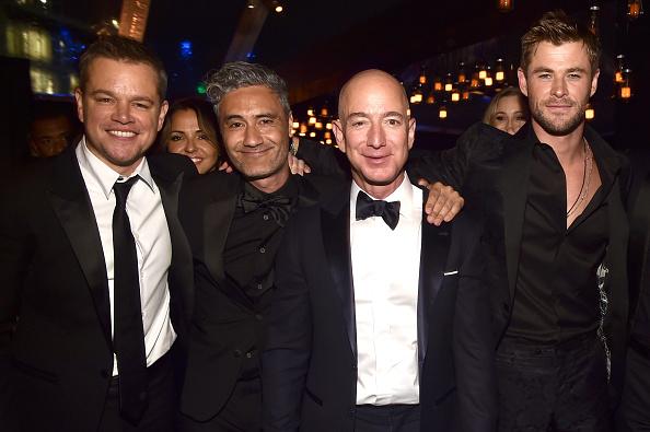 マット・デイモン「Amazon Studios Golden Globes Celebration - Inside」:写真・画像(10)[壁紙.com]