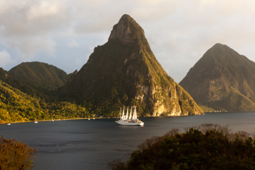 Soufriere「St. Lucia's Twin Pitons」:スマホ壁紙(12)