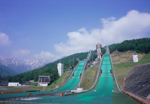 世界のスポーツイベント「Ski Jumping Stadium, Hakuba, Nagano Prefecture, Japan」:スマホ壁紙(18)