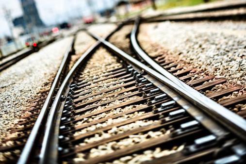 Railroad Junction「Railroad  track points」:スマホ壁紙(18)