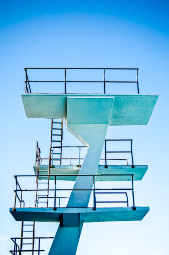 Diving Platform「High-diving board structure and ladders」:スマホ壁紙(7)