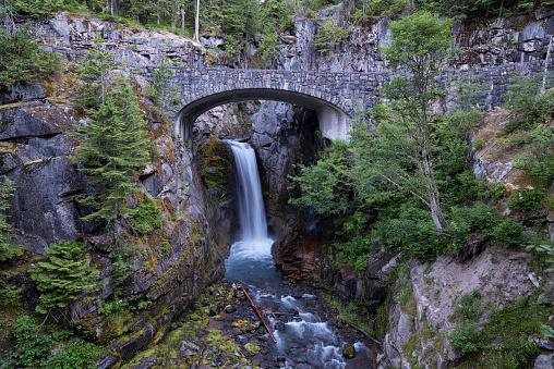 レーニア山国立公園「Christine Falls Mount Rainier」:スマホ壁紙(19)