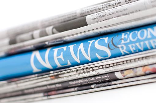 Global Finance「Up close of economy newspapers」:スマホ壁紙(18)