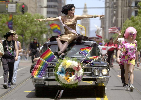 Celebration Event「31st Annual San Francisco Gay Pride Parade」:写真・画像(11)[壁紙.com]