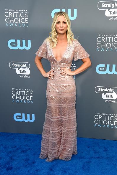 Kaley Cuoco「The 23rd Annual Critics' Choice Awards - Arrivals」:写真・画像(7)[壁紙.com]