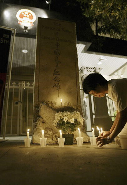 Portability「Candlelight Vigil Commemorates 15th Anniversary Of Tiananmen Massacre」:写真・画像(19)[壁紙.com]