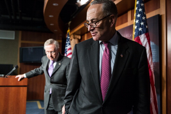 Brendan Hoffman「Senate Democratic Leadership Holds Press Conference」:写真・画像(11)[壁紙.com]