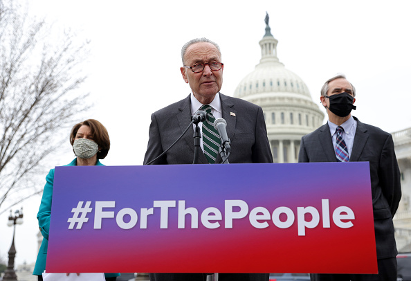 People「Senate Majority Leader Schumer Announces 'For The People' Act」:写真・画像(0)[壁紙.com]