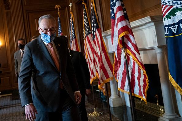 Incidental People「Senate Majority Leader Chuck Schumer Meets With Incoming Senators Ossoff, Padilla, And Warnock」:写真・画像(9)[壁紙.com]