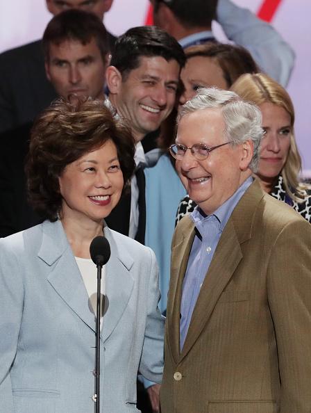 Elaine Chao「Cleveland Prepares For Upcoming Republican National Convention」:写真・画像(6)[壁紙.com]