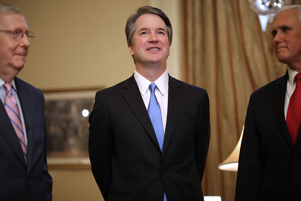 Chip Somodevilla「Supreme Court Nominee Brett Kavanaugh Meets With VP Pence And Sen. McConnell」:写真・画像(17)[壁紙.com]