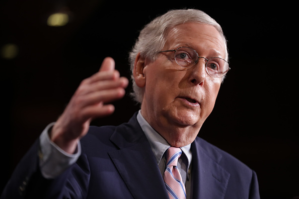 Mitch McConnell「Senate Votes On Confirmation Of Brett Kavanaugh To The Supreme Court」:写真・画像(6)[壁紙.com]