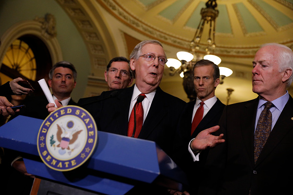 Aaron P「Senate Republicans Address The Press After Their Weekly Policy Luncheon」:写真・画像(15)[壁紙.com]