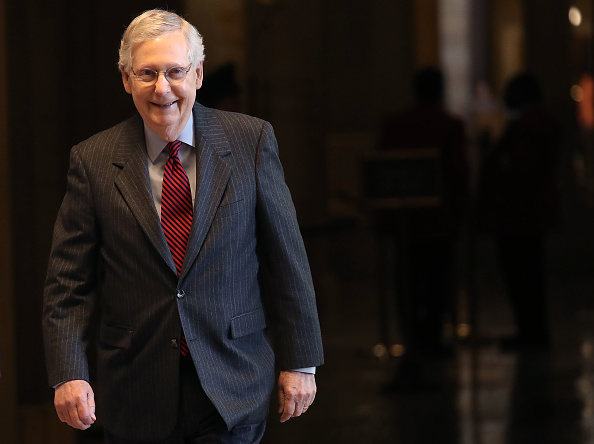 Mitch McConnell「Senate Prepares To Vote On McConnell Amendment To Middle East Security Bill」:写真・画像(8)[壁紙.com]