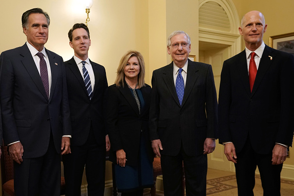Florida - US State「Senate Majority Leader Mitch McConnell (R-KY) Meets With Newly Elected Republican Senators On Capitol Hill」:写真・画像(19)[壁紙.com]