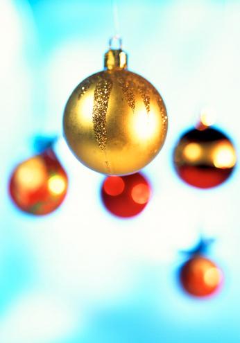 クリスマスボール「ornamental christmas tree decorations」:スマホ壁紙(4)