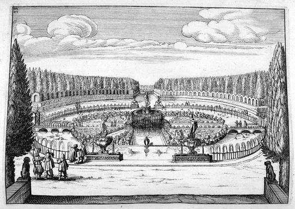 Ornamental Garden「Ornamental fountain and garden design, 1664. Artist: Georg Andreas Bockler」:写真・画像(8)[壁紙.com]