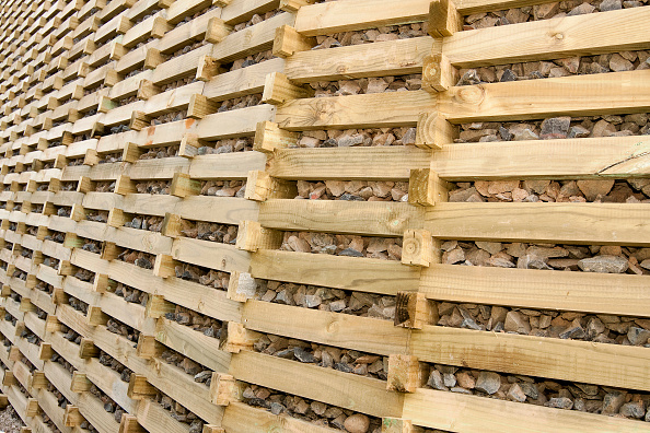 Finance and Economy「Timber crib retaining wall」:写真・画像(13)[壁紙.com]