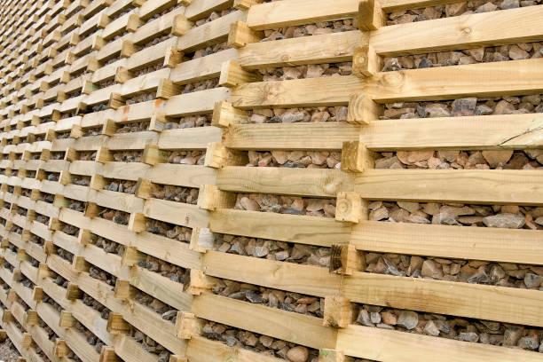 Timber crib retaining wall:ニュース(壁紙.com)