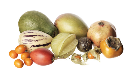 柿「Exotic fruit」:スマホ壁紙(1)