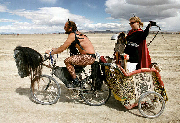 Burning Man Festival in Nevada Desert:ニュース(壁紙.com)