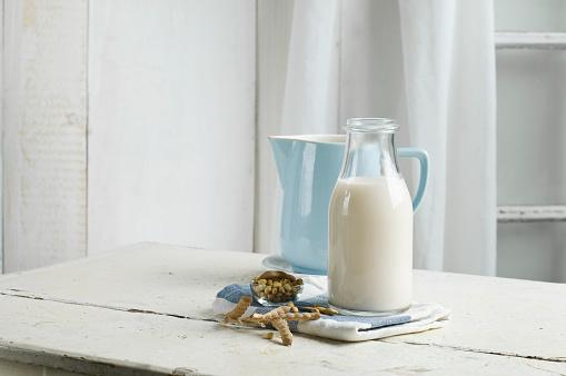 Milk Bottle「Vegan milk, soy milk」:スマホ壁紙(12)