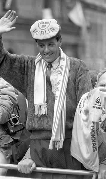 自転車・バイク「Tour de France Winner Stephen Roche in Dublin」:写真・画像(8)[壁紙.com]