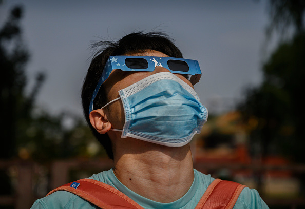 Annular Solar Eclipse「Annular Eclipse In China」:写真・画像(11)[壁紙.com]