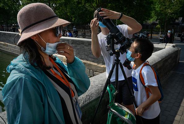 Annular Solar Eclipse「Annular Eclipse In China」:写真・画像(19)[壁紙.com]