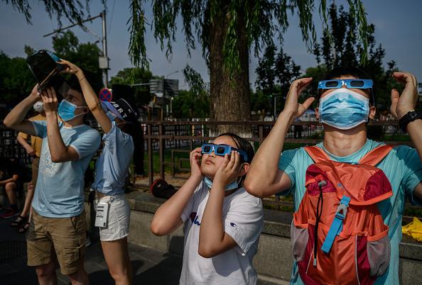 Annular Solar Eclipse「Annular Eclipse In China」:写真・画像(16)[壁紙.com]