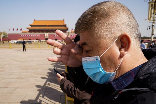 Mourning「China Holds A National Mourning For COVID-19 Victims On Tomb Sweeping Day」:写真・画像(6)[壁紙.com]