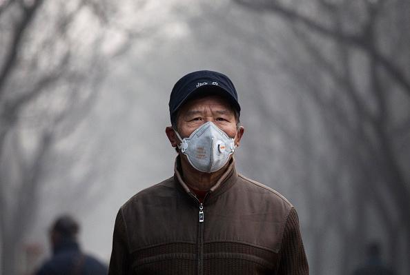 Environmental Damage「Beijing Blanketed In Heavy Smog」:写真・画像(5)[壁紙.com]