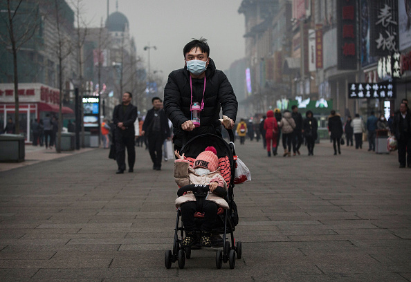Air Pollution「Beijing Issues Red Alert On Air Pollution For The First Time」:写真・画像(9)[壁紙.com]