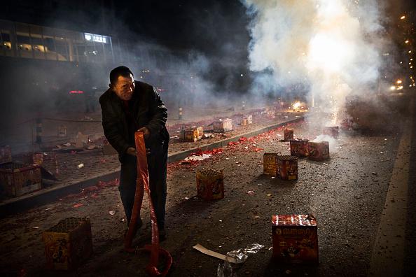 お祭り「People Celebrate The Spring Festival In China」:写真・画像(3)[壁紙.com]