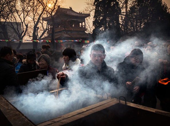 文化「People Celebrate The Spring Festival In China」:写真・画像(13)[壁紙.com]