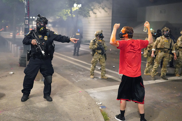 Oregon - US State「Feds Attempt To Intervene After Weeks Of Violent Protests In Portland」:写真・画像(9)[壁紙.com]