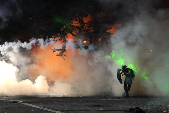 Oregon - US State「Feds Attempt To Intervene After Weeks Of Violent Protests In Portland」:写真・画像(11)[壁紙.com]