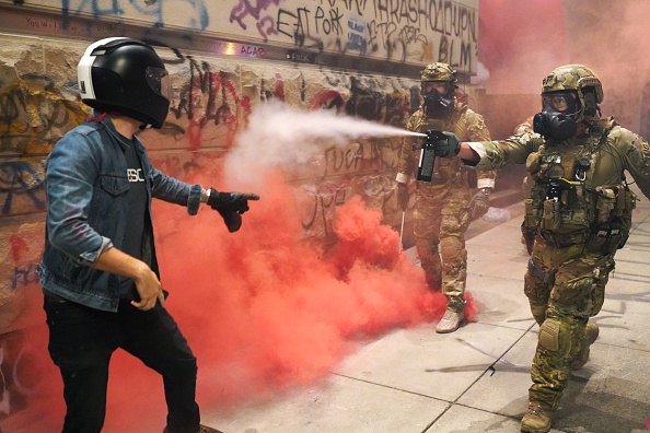 Oregon - US State「Feds Attempt To Intervene After Weeks Of Violent Protests In Portland」:写真・画像(0)[壁紙.com]