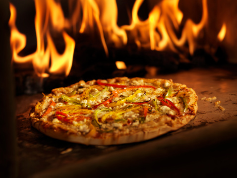Feta Cheese「Pizza in a Wood Burning oven」:スマホ壁紙(5)