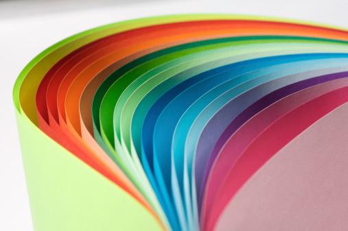 Paperwork「Paper Rainbow...」:スマホ壁紙(10)