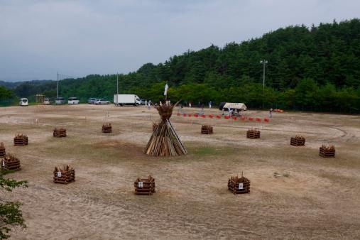 お祭り「Fire Festival」:スマホ壁紙(16)