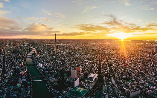 Mt Fuji「Asakusa district in the early morning in Tokyo, Japan」:スマホ壁紙(19)